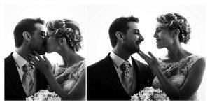 Tenerezze tra gli sposi