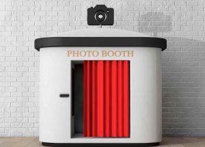 Immagine della classica cabina del photobooth