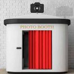 La classica cabina del photobooth