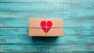 Pacchetto regalo per gli sposi