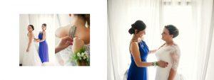 La sposa si veste, il vestito della sposa